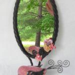"Pink Bird  7x14"" <br /> $45"